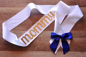 prince themed baby shower ideas to be sash for royal prince baby shower handcrafted in