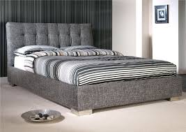 King Size Upholstered Bed Glamorous Bedroom Design - Bedroom designs pictures galleries