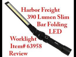 harbor freight light bar harbor freight braun slim barfolding led worklight item 63958