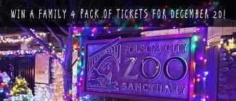 folsom zoo christmas lights 2017 folsom zoo 2017 wild nights holiday lights ticket contest