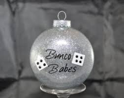bunco ornament etsy