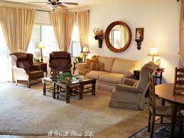 Mixing Leather And Fabric Sofas by A Stroll Thru Life I Need Help With Drapes
