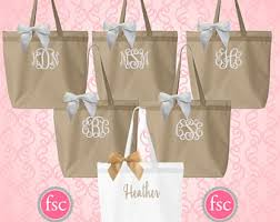 bridal party tote bags 8 bridesmaid tote bags bachelorette party gifts bridal