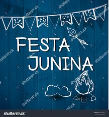 Juneteenth Flag Festa Junina Brazil Topic Festival Folklore Stock Vector 418894501