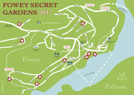 Secret Map Secret Gardens 2017 Fowey Festival
