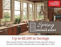Patio Doors Sale Milgard Windows Doors Sale Save 2500 A New View