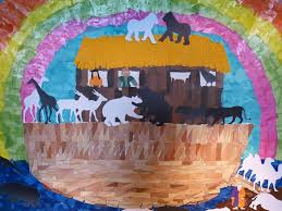 free images ship color bible children faith animals mural