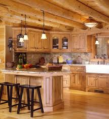 Awesome Log Cabin Kitchen Cabinets Kitchen Cabinets - Cabin kitchen cabinets