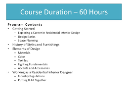Interior Designer Course by Interior Design Courses In Chennai Guindy Tambaram