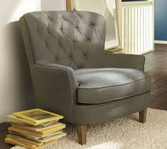 Overstuffed Armchair Gray Makes Our Day C H A I R S Pinterest Gray Fabrics And