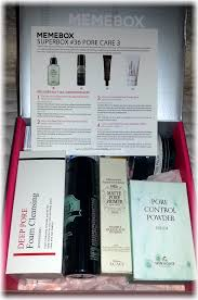 It Works Skin Care Reviews Memebox Superbox 36 Pore 3 Review U2013 Unboxing Beauty Archive