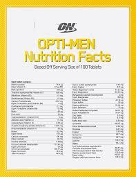 optimum nutrition opti men multivitamin best supplement
