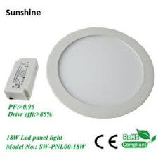 ceiling light flat round china 11mm super thin recessed slim flat round led panel ceiling