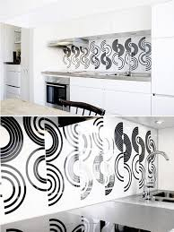 backsplash for black and white kitchen 50 kitchen backsplash ideas