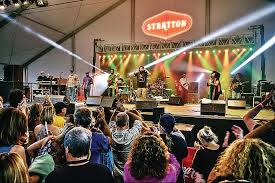 Stratton Mountain Map Stratton Gearing Up For Summer Concerts The Brattleboro Reformer