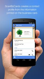 Best Business Card Reader App Scanbizcards Lite Scan Card Android Apps On Google Play