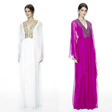 elegant long sleeve evening dresses kaftan australia new