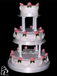 cake pillars wedding cake with pillars three tiers 14 10 6 wedding c flickr