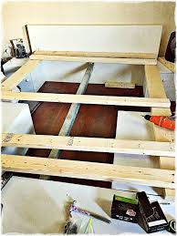 Japanese Style Platform Bed Build How To Build A Japanese Style Platform Storage Bed