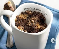 my mug cake german chocolate cake mix preparation tastefully simple