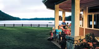 The Cliff House Dining Room Keowee Vineyards Lake Luxury Gated Community In South Carolina