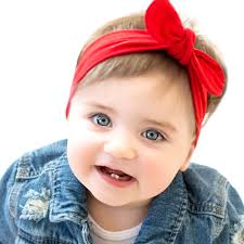 infant hair fashion solid color headbands newborn infant hair