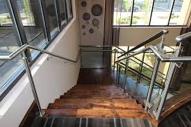 Stainless Steel Banister Rail Stainless Steel Staircase Artistic Stairs