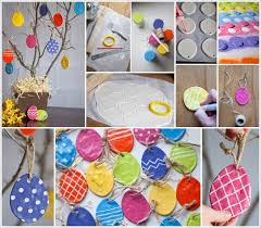 easter egg ornaments these salt dough easter egg ornaments are so adorable