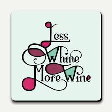 type club coaster less whine more wine by urban graphic pf5114