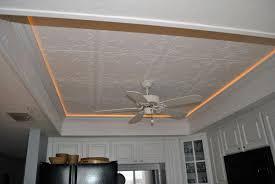 Recessed Lighting For Drop Ceiling by Decorative Ceiling Tiles Present Gorgeous Ceiling Designoursign