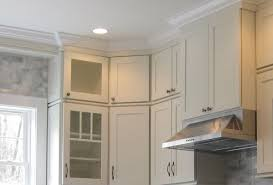how to install kitchen wall cabinets with crown molding white shaker cabinets kitchen remodeling photos