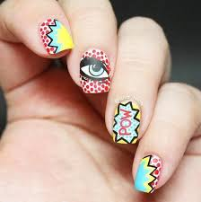 12 comic book inspired nail designs every nerdy will love