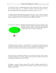 100 circular motion worksheet 57 best circular motion