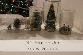 the perfect holiday gift feat diy mason jar snow globes