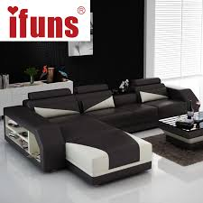 Leather Sofa Seat Ifuns Custom Made Classic Italian Leather Sofa L Shaped Designs