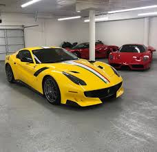 yellow f12 this collector ordered a f12 tdf to match his 64 250 lusso