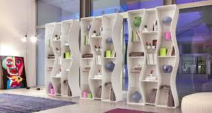 undulating modular bookcase system from tonin casa u2013 interior