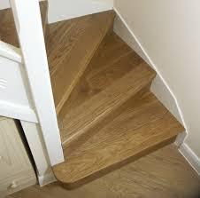 Stair Moulding Ideas by Oak Stair Cladding Oak Kyte Winder Flight Oak Bullnose Bottom