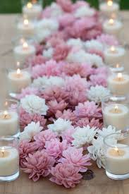 wedding flowers for tables 10 3 blush wooden flowers wedding decorations wedding flowers