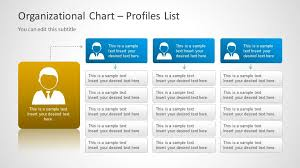 Template Organizational Chart by Org Chart Template For Powerpoint Slidemodel