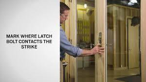 Andersen Patio Door Hardware Replacement Blocker Adjustment On Andersen Frenchwood Hinged Patio Doors