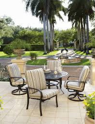 Wrought Iron Patio Dining Set - dining room gorgeous outdoor dining room decoration with round