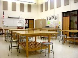 image result for art classroom tables with storage underneath