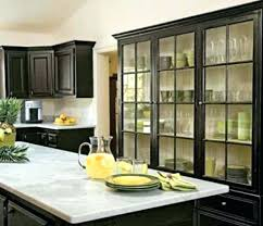 glass front kitchen cabinet doors best glass front cabinets ideas