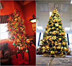 tree decorations and gold 2016 cheminee website