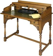 home office writing desk old charm home office 2805 writing desk traditional finish home