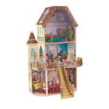 beauty and the beast enchanted dollhouse by kidkraft
