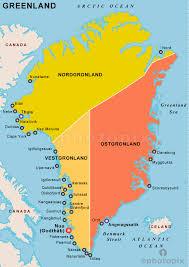 america map political greenland political map political map of greenland political