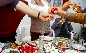 Easter Decorations In Greece by How To Win At Greek Egg Tapping Greece Is