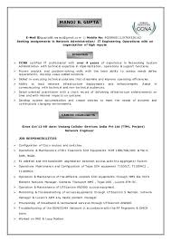 Sample Resume For Hotel Management Fresher by Ccna Resume Resume Cv Cover Letter